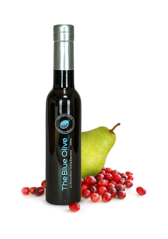 Cranberry Pear White Balsamic Vinegar Condimento
