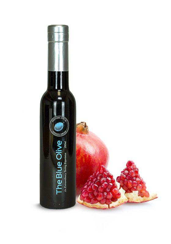 Pomegranate Dark Balsamic Vinegar Condimento