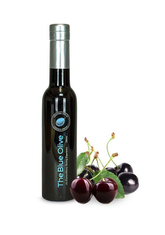 Black Cherry Dark Balsamic Vinegar Condimento