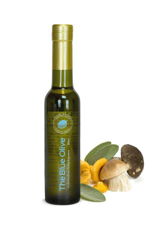 Porcini Mushroom and Sage Infused Extra Virgin Olive Oil