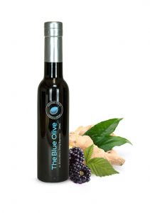 Blackberry Ginger Dark Balsamic Vinegar Condimento